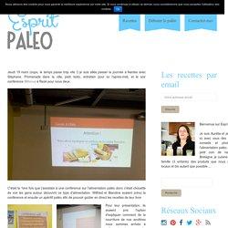 Conférence Paléo - Esprit Paleo
