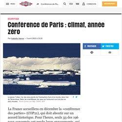 Conférence de Paris: climat, année zéro
