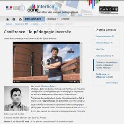 Conférence : la pédagogie inversée