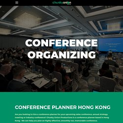 Conference Planner Hong Kong