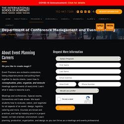 Event Management Courses & School