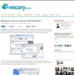 Qucikprez: créez une conférence Web rapidement