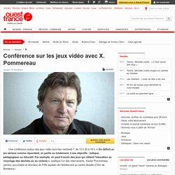 Conférence sur les jeux vidéo avec X. Pommereau