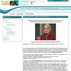 Conférence P. Viveret - eureasso.fr