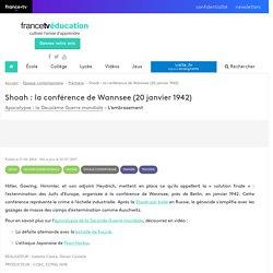 Shoah : la conférence de Wannsee (20 janvier 1942) - Vidéo