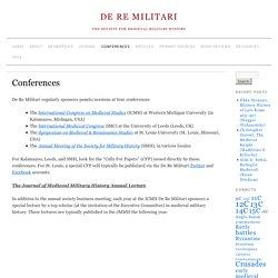 Conferences » De Re Militari