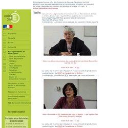 Vidéos des conférences «Encourager l'égalité filles-garçons dès la maternelle»