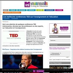 Les meilleures conférences TED sur l'enseignement et l'éducation