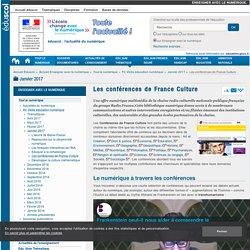 Les conférences de France Culture — Enseigner avec le numérique