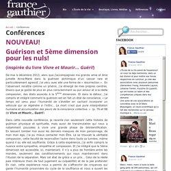 Conférences — France Gauthier