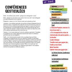 Conférences gesticulées