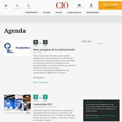 Agenda et date des évènements, conférences, séminaires informatique, IT...
