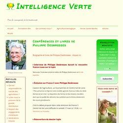 Conférences et livres de Philippe Desbrosses