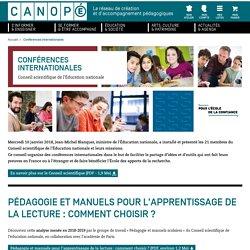 Conférences internationales