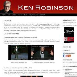 Vidéos de Ken Robinson : conférences TED, discours et interviews