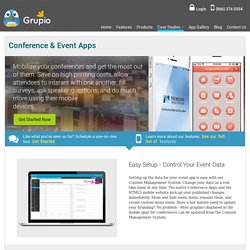 Manage and Control Your Event with Our Trade Show App.