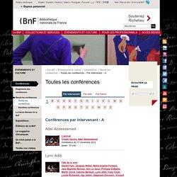Conférences en ligne