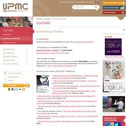 Conférences filmées - Université Pierre et Marie CURIE