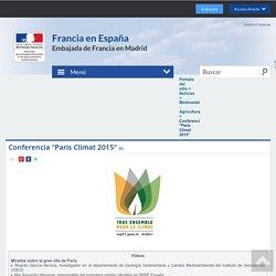 """Conferencia """"Paris Climat 2015"""""""