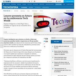 Las novedades que Lenovo presentó en la conferencia Tech World - Novedades tecnología