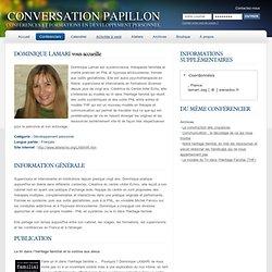Conférenciers en relation d'aide et de développement personnel sur Internet