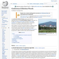 Conferenza di Bretton Woods
