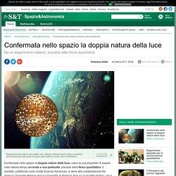 Confermata nello spazio la doppia natura della luce - Spazio & Astronomia