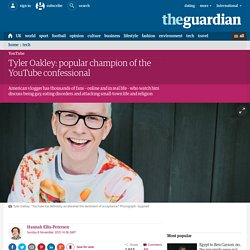 Tyler Oakley: popular champion of the YouTube confessional