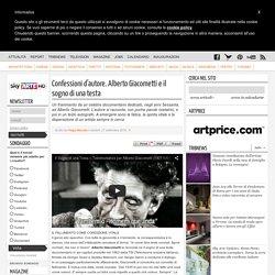 Confessioni d'autore: parla Alberto Giacometti