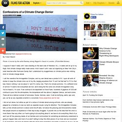 Confessions of a Climate Change Denier