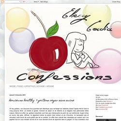 Cherry Cordia Confessions: Douceurs healthy: 9 goûters vegan sans sucre