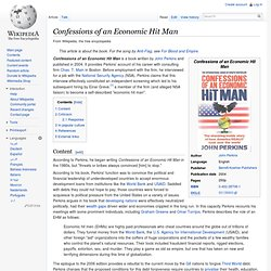 Wikipedia: Confessions of an Economic Hit Man