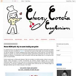Cherry Cordia Confessions: Mission MIAM petit-déj: les scones healthy sans gluten