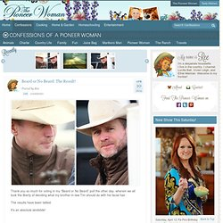Confessions of a Pioneer Woman | Ree Drummond
