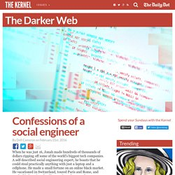 Confessions of a social engineer