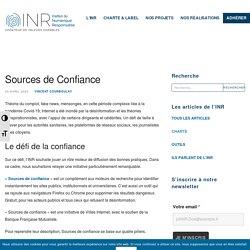 L'outil Sources de confiance, contre la désinformation