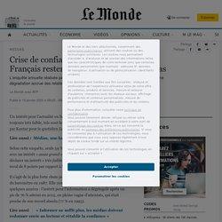 Les Français restent critiques envers les médias