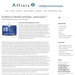 Confiance et identité numérique : quels enjeux ?