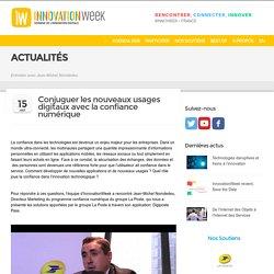 Usages digitaux et confiance numérique - InnovationWeek