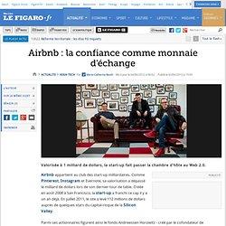 Airbnb : la confiance comme monnaie d'échange