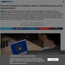 Pour les Français, la confiance dans le numérique passe par la réglementation