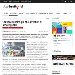 Confiance numérique et réinvention du service public - Vidéo 1