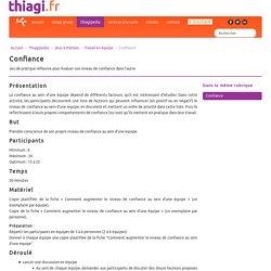 Confiance - Thiagi.fr