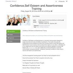 Self Esteem Training