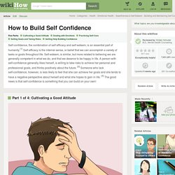 How to Build Self Confidence: 12 steps