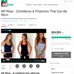 AR Wear - Confidence & Protection That Can Be Worn