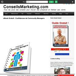eBook Gratuit : Confidences de Community Managers