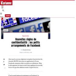 Nouvelles règles de confidentialité : les petits arrangements de Facebook
