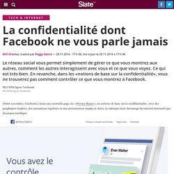 La confidentialité dont Facebook ne vous parle jamais