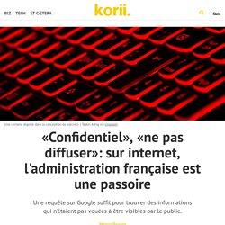 «Confidentiel», «ne pas diffuser»: sur internet, l'administration française est une passoire